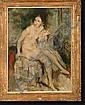 LAUDY Jean (1877-1956). Huile sur toile