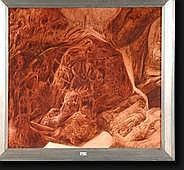 DUBRAY Cyrus (1927-1979). Huile sur toile