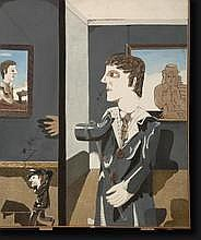 VINCHE Lionel (1936). Huile sur toile