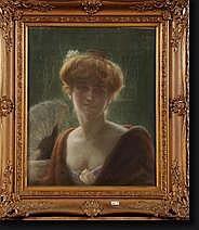 DORE Jacques (1861-1929) (?). Portrait d'une