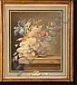 VAN OS Maria Magrita (1780-1862). Vase de fleurs, Maria Margaretha
