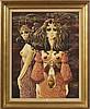 LE MOULT Christian (1941) Huile sur toile