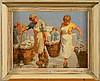PEISER Kurt (1887 - 1962) - Huile sur toile marouflée sur panneau