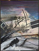 BALTAZAR Julius (1949) - Huile sur toile