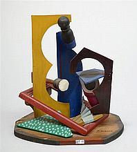 HUBERTI Antonio (1907 - 2000) -