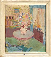 QUINET Mig (1906 - 2001) - Huile sur toile