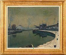 PAULUS Pierre (1881 - 1959) - Huile sur carton