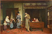 HEYERMANS Jan Arnold (1837 - 1892) - Huile sur toile marouflée sur toile