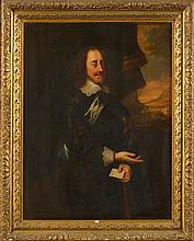 LELY Pieter (1618 - 1680) - Huile sur toile marouflée sur toile