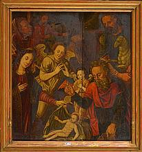 LOMBARD Lambert (1505 - 1566) - Huile sur panneau de chêne
