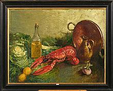 BASTIEN Alfred (1873 - 1955) - Huile sur toile