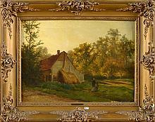 GERARD Théodore (1829 - 1895) - Huile sur toile
