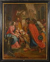 VAN LINT Peter (1609 - 1690) - Huile sur toile