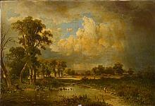 CHWALA Adolf (1836 - 1900) - Huile sur toile
