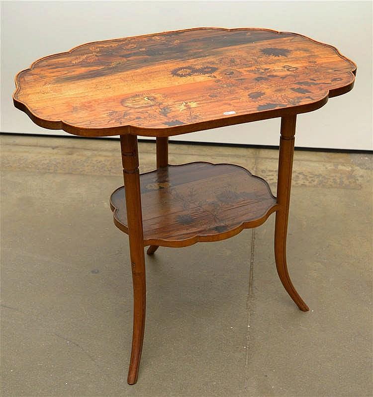 galle emile 1846 1904 gu ridon chantourn de style art. Black Bedroom Furniture Sets. Home Design Ideas