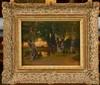 DOUZETTE Louis (1834 - 1924), Huile sur carton