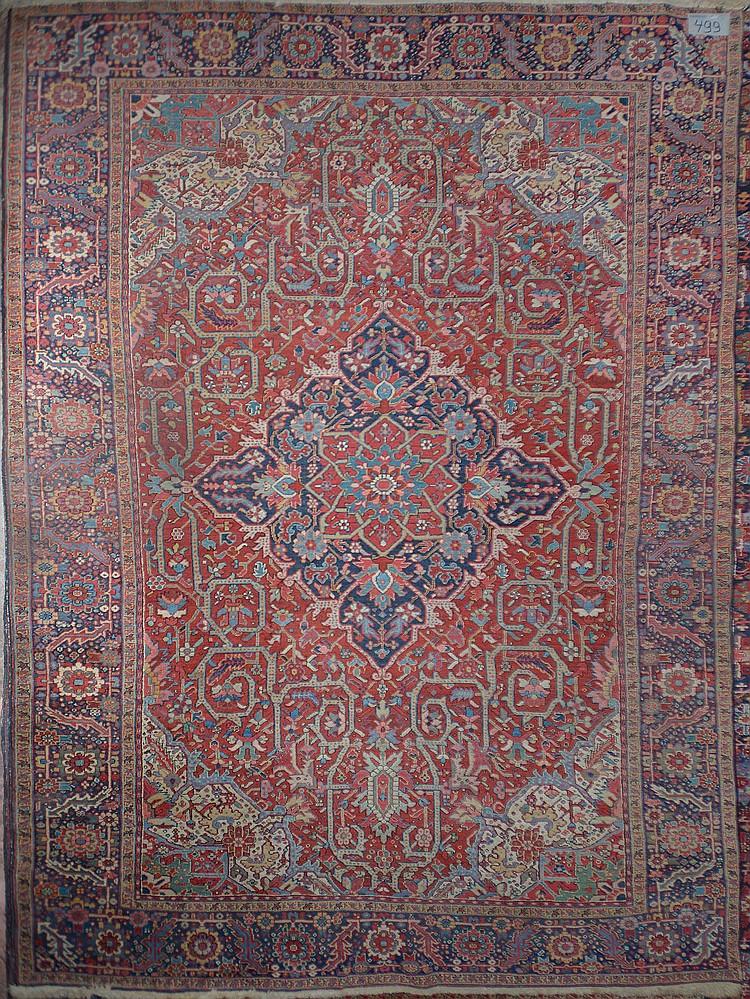 grand tapis h riz fait main en laine m daillon central au. Black Bedroom Furniture Sets. Home Design Ideas