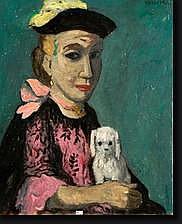 VERCOOR pour VERSCOORE Armand (1896-1974). Huile