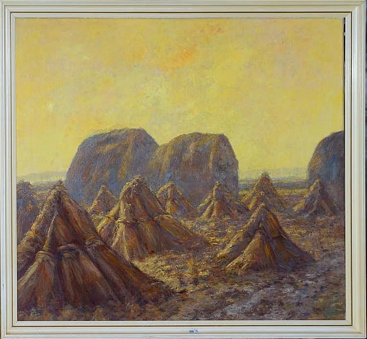 BUT Jos (1899 - 1980) Huile sur toile