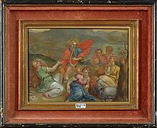 VAN BALEN Jan (1611 - 1654) Huile sur cuivre