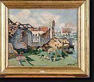 LEMAITRE Albert (1886-1975). Huile sur toile