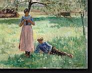 DENONNE Alexandre (1879-1953). Huile sur toile
