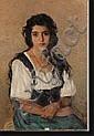 BOUDRY Aloïs (1851-1938). Huile sur toile, Alois Boudry, Click for value