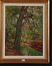 RUL Henry (1864-1942). Huile sur toile