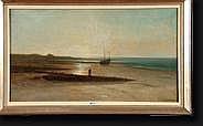 T'SCHARNER Théodore (1826-1906) Huile sur toile