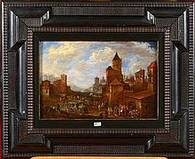 VAN BREDAEL Peeter (1629 - 1719) Huile sur panneau
