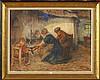 DIERCKX Pierre Jacques (1855 - 1947) Huile sur toile