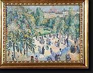 CRETEN Georges (1887-1966). Huile sur toile