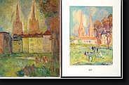 SAADA Henri (1906-1976) Une huile sur toile et un