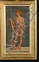 BUISSERET Louis (1888-1956) Huile sur panneau