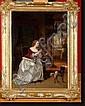 LEYS Henri (1815-1869) Huile sur panneau