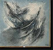 CENA Gabriele (1907-1993) Huile sur toile