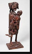 MICHIELS Robert (1933). Maternité en fer soudé.
