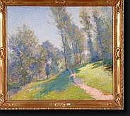VAN PUYENBROECK Jan (1887-1972). Huile sur toile