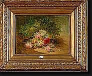 HUYGENS François Joseph (1820-1908). Huile sur