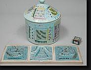 CAILLE Pierre (1912-1996). Un grand pot à tabac