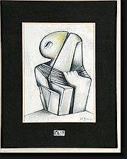 JUNG Simonetta (1917-2005). Homo Novus, technique
