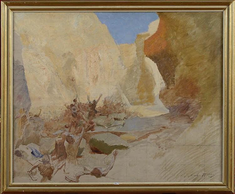 THIVIER Emile-Louis  (1858 - 1922)