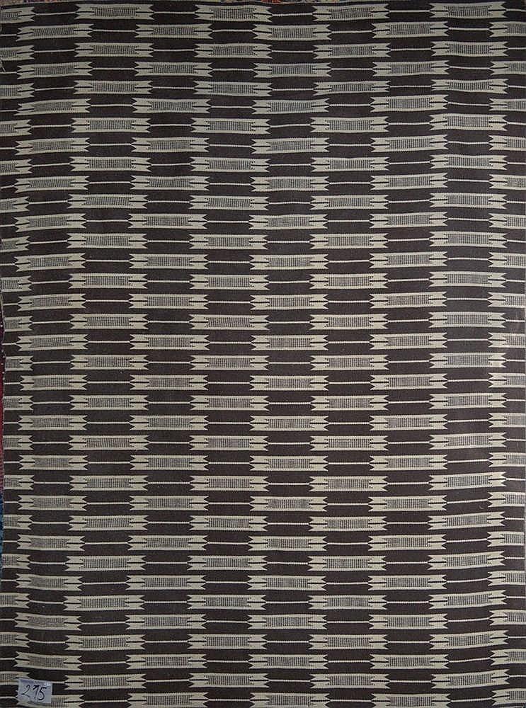 tapis en laine coton et jute au d cor g om trique sur fond. Black Bedroom Furniture Sets. Home Design Ideas