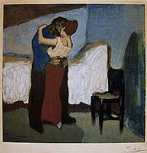 Pablo Picasso original color lithograph on Arches after