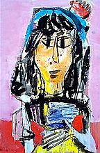 Vaclav Vytlacil (1892-1984), Mexican Girl, 1969