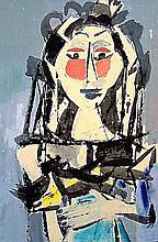 Vaclav Vytlacil (1892-1984), Mexican n.3, 1969