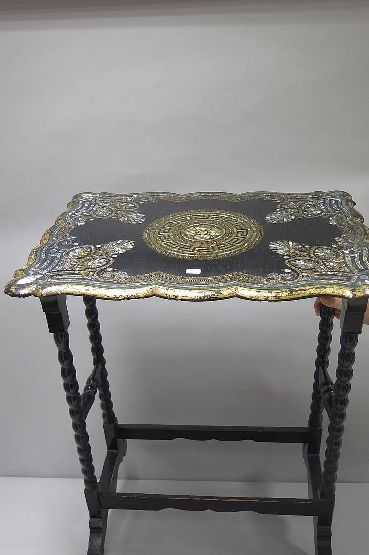 Italie seconde moiti du xix si cle vers 1860 1880 petit - Petites tables de salon ...