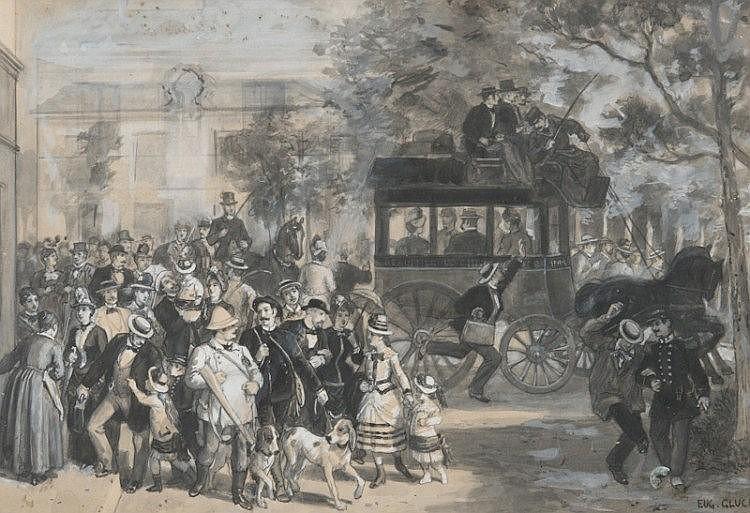 Eugène GLUCK (1820-1898)