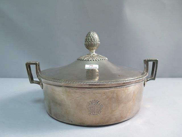 Legumier couvert en argent armoir poin on 1er coq poids 9 for Dresser table couverts