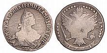 Russia. Catharina. 20 Kopeks. 1771.